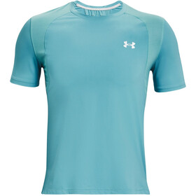 Under Armour Isochill Run 200 Short Sleeve Shirt Men, cosmos-bre